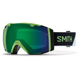 Smith I/o Asian Fit Snow Goggles With Green Mirror Lens