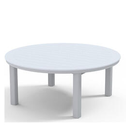 "Telescope Casual 54"" Round Chat Table W/ Hole"