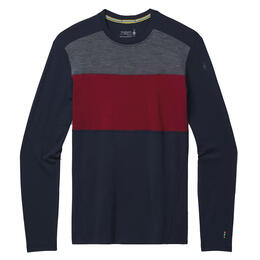 Smartwool Men's Merino 250 Baselayer Colorblock Crew Shirt