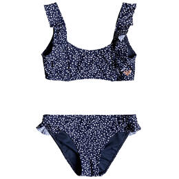 Roxy Girls' Seaside Lover Athletic Swimsuit Set