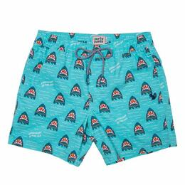 Party Pants Men's Gangsters Of The Sea Beaver Swim Shorts