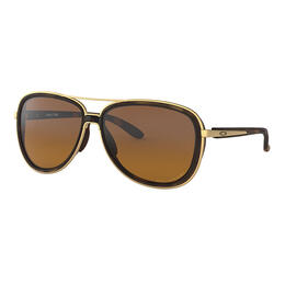 Oakley Women's Split Time Sunglasses with Polarized Brown Gradient Lenses