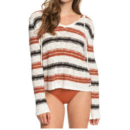 Roxy Women's Shades Of Cool Hoodie Poncho Sweater