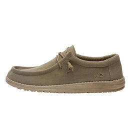 Hey Dude Men's Wally Canvas Casual Shoes