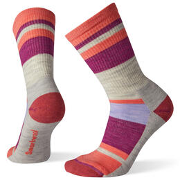Smartwool Women's Hike Light Striped Crew Socks