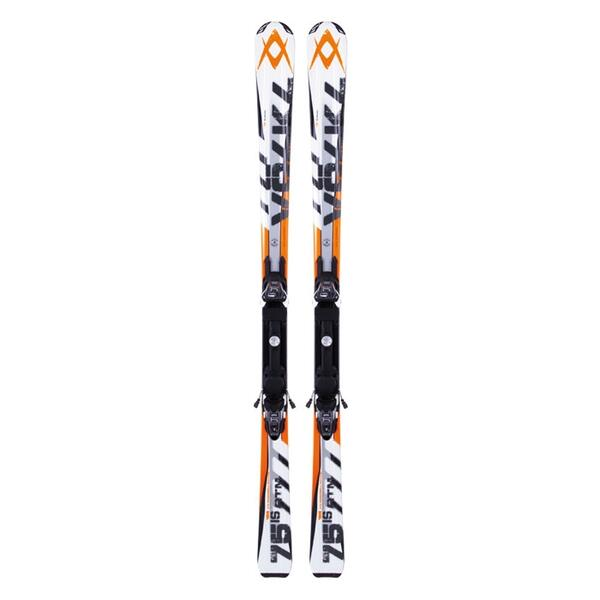 Volkl Men's RTM 75is All Mountain Skis with 4Motion 10.0 Bindings '13