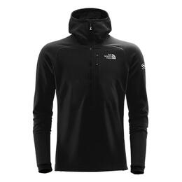 The North Face Men's Smt L2 Fuseform 1/4 Zip Fleece Hooded Jacket