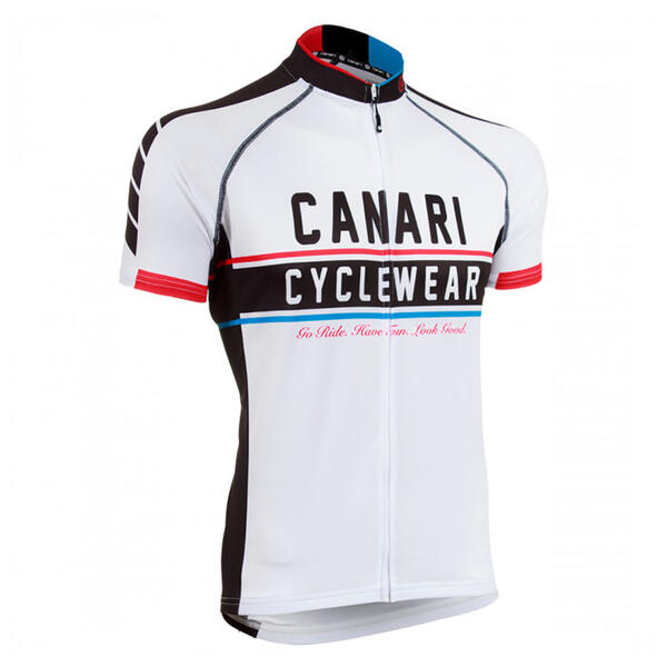 Canari Men's Vista Short Sleeve Cycling Jer