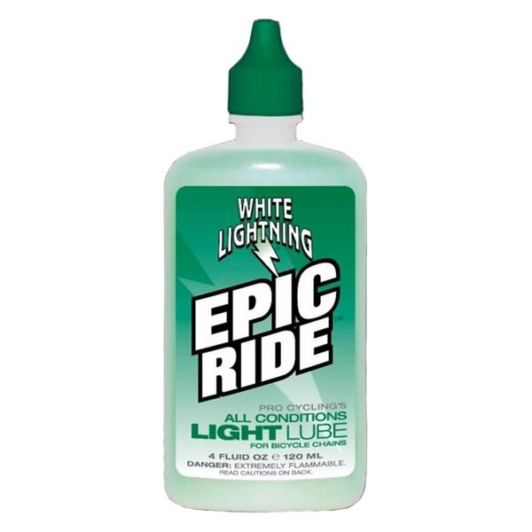 White Lightning Epic Ride 4oz. Bicycle Chain Lube