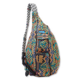 Kavu Women's Rope Bag Pixel Palace Backpack