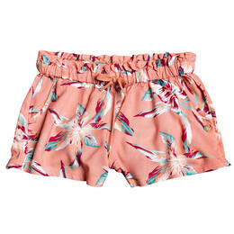 Roxy Girl's Rainbow Shower Beach Shorts