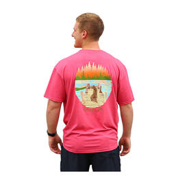 Burlebo Men's Lake Life T Shirt