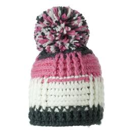 Obermeyer Girl's Patchwork Knit Hat