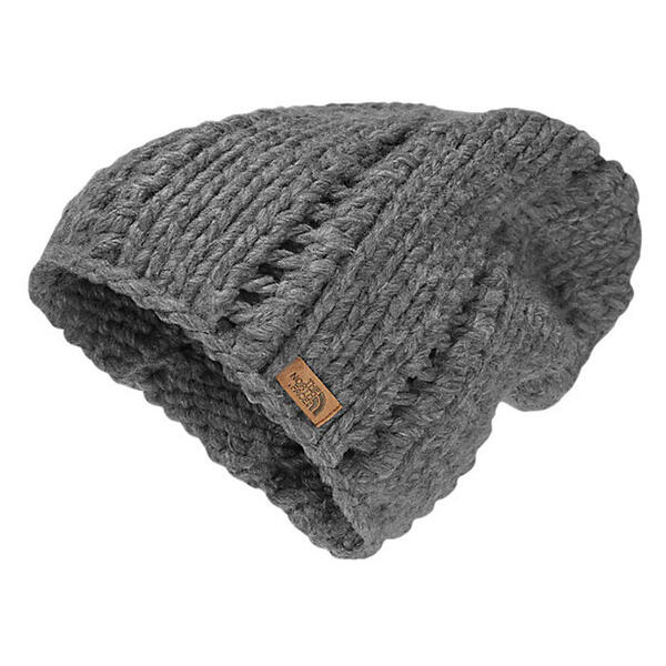 The North Face Women's Chunky Knit Beanie Grey Heather