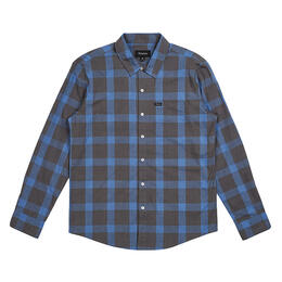 Brixton Men's Charter Plaid Long Sleeve Woven Shirt
