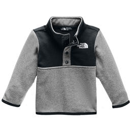 The North Face Infant Glacier 1/4 Snap Fleece Jacket