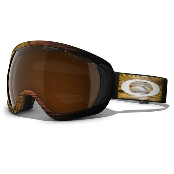 Oakley Canopy Snow Goggles with Black Iridium Lens