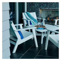 Seaside Casual Dex 5-Piece Chat Dining Set