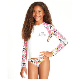 Billabong Girl's Sun Dream Long Sleeve Rashguard Set
