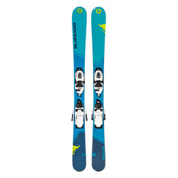 Blizzard Junior Boy's Rustler Twin All Mountain Skis w/ FDT 7.0 Bindings '19