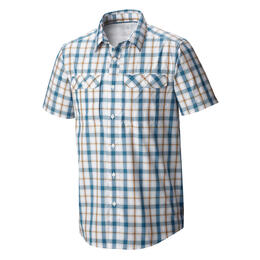 Mountain Hardwear Men's Canyon Plaid Short Sleeve Shirt