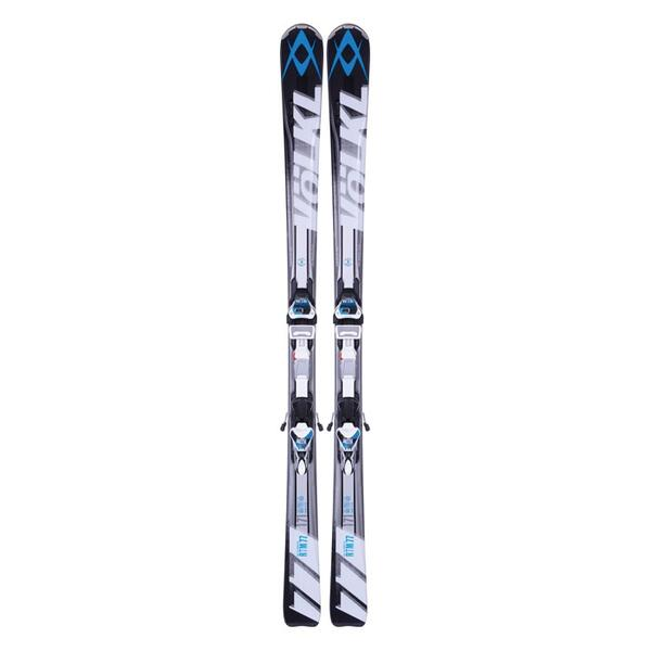 Volkl Men's RTM 77 All Mountain Skis with 4Motion 11 TC Bindings '14