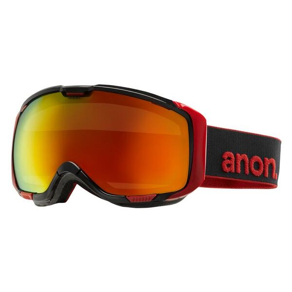 Anon Men's M1 Goggles with Red Solex Lens