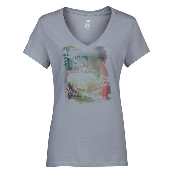 The North Face Women's Impressionista V-neck Shortsleeve Tee