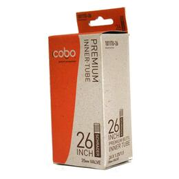 Cobo 26x1.25/1.5 Schrader Valve Bicycle Tube