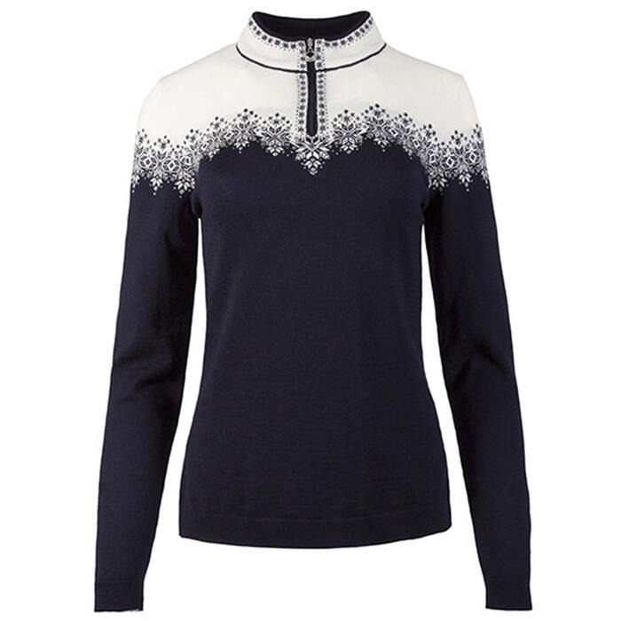 Dale Of Norway Women's Snefrid 1/4 Zip Swea