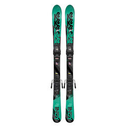 K2 Boy's Indy All Mountain Skis w/ FDT 4.5 Bindings '19
