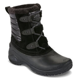 The North Face Women's Shellista II Shorty Apres Boot Black/Smoked Pearl Grey