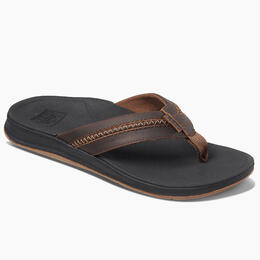Reef Men's Lthr Ortho Bounce Coast Sandals