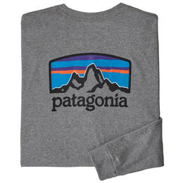 Patagonia Men's Fitz Roy Responsibili-Tee® Long Sleeve Shirt
