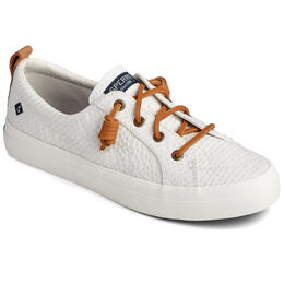 Sperry Women's Crest Vibe Seersucker Stripe Shoes