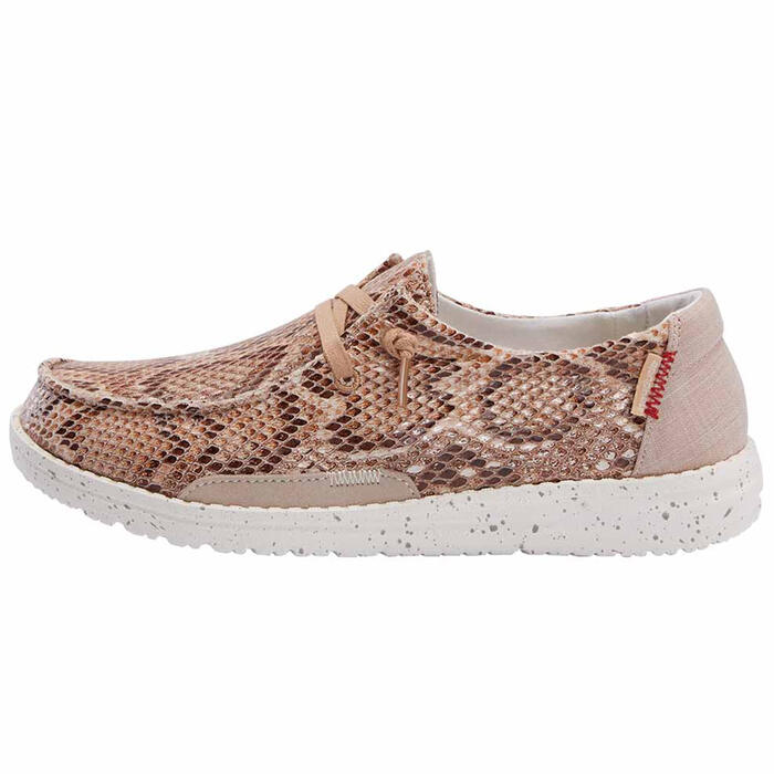 Hey Dude Women's Wendy Python Casual Shoes
