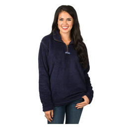 Lauren James Women's Linden Sherpa Fleece Pullover