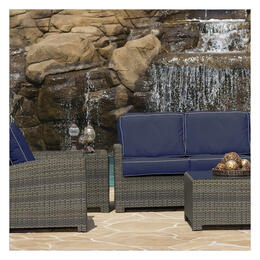 North Cape Cabo Willow Loveseat 4-Piece Deep Seating Set