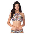 Lucky Women's Late Bloomer Hi-neck Bikini T
