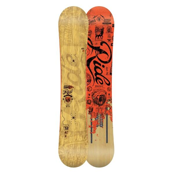 Ride Men's Manic All Mountain Snowboard '15