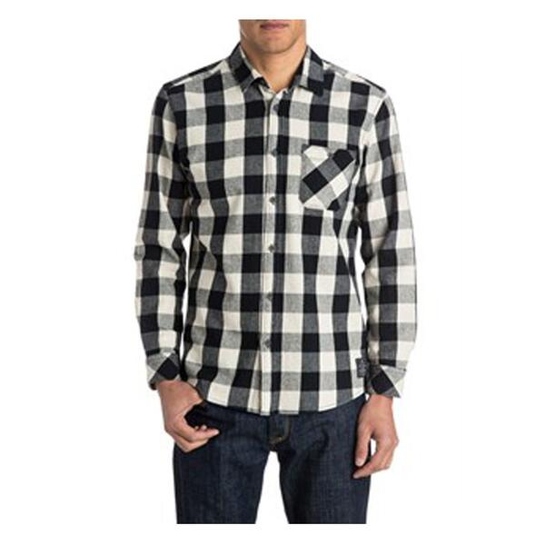 Quiksilver Men's Motherfly Flannel Long Sleeve Shirt