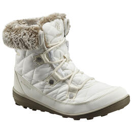Columbia Women's Heavenly Shorty Omni Heat Lace Up Snow Boots