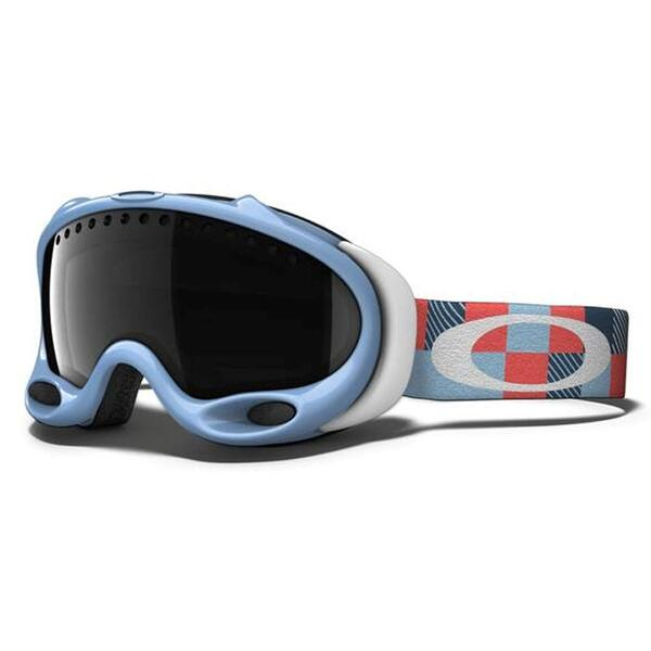 Oakley A Frame Goggles with Dark Grey Lens