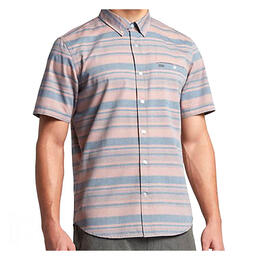 Hurley Men's Froth Short Sleeve Button Up Shirt