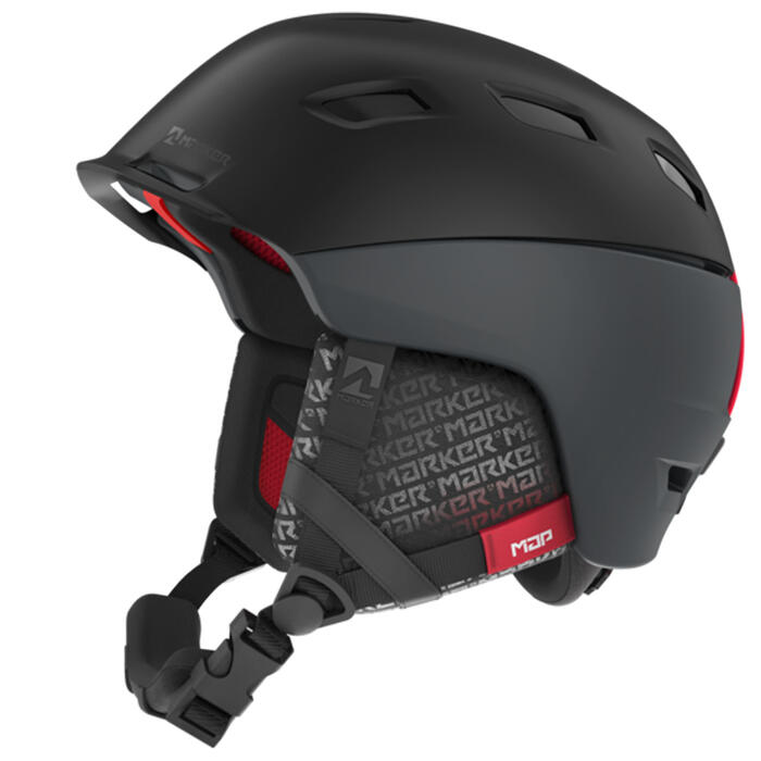 Marker Men's Ampire Map Snow Helmet '19 Bla
