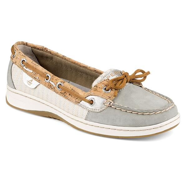 Sperry Women's Angelfish 2-eye Metallic Fleck Cork Casual Shoes