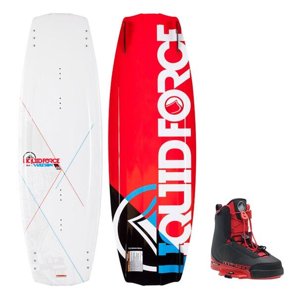 Liquid Force Men's Watson Wakeboard W/ Tao Bindings '15