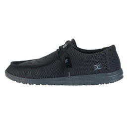 Hey Dude Men's Wally Sox Casual Shoes Black