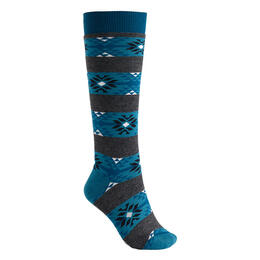 Burton Women's Weekend Two-Pack Snow Socks Blue