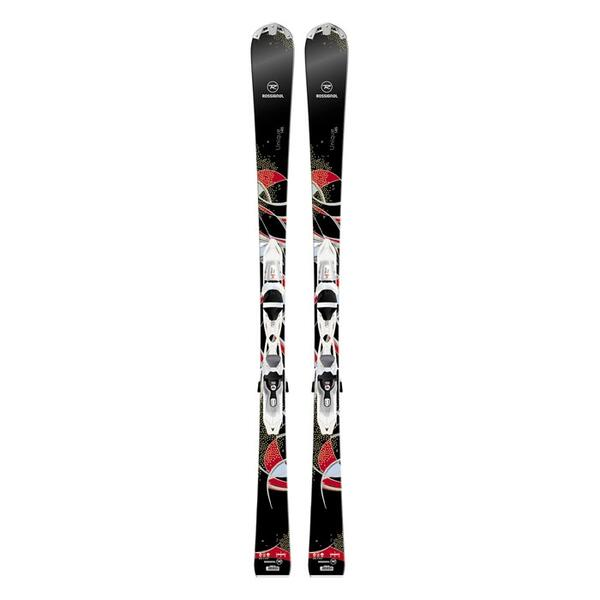 Rossignol Women's Unique All Mountain Skis with XELSP 100 Bindings '14